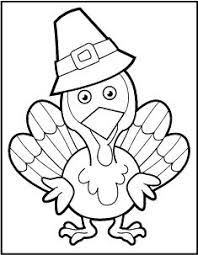 Printable Thanksgiving Book Pages To Color