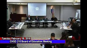 February 2016 Board Of Education Meeting (2/16/2016) | Community ...