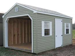 Wood Storage Sheds 10 X 20 by Amish Storage Sheds U0026 Shed Kits From Alan U0027s Factory Outlet