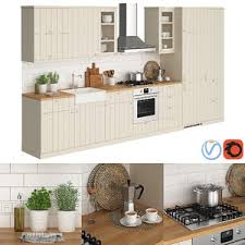 3d ikea kitchen models turbosquid