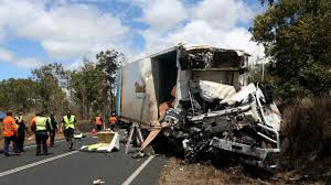 Horrific Truck Crash Kills Two | Sunshine Coast Daily Man Dies In Crash Between Vehicle Fedex Truck On I880 Oakland Truck Driver Involved The Fatal Tesla Autopilot Claims Fatal Canterbury Rd Bankstown Daily Telegraph Why Deadly Crashes Happen Mann Elias Injury Law 2016 Accidents Increased 3 Percent From 2015 Accident Lawyer Discusses Russian And Bus Crash Us Traffic Deaths Jump To Make Deadliest Roads Since 2007 2 Refighters Killed Hurt As Crashes Way Scene Of Los Angeles Attorney Big Rig Accidents Citywide Deaths Volving Trucks Out Control Says Union Central Judge Fine Not Enough Sends Jail