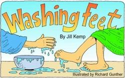 Washing Feet Activity Pages