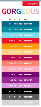25 Trending Colour Hex Codes Ideas On Pinterest