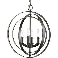 Lamp Shade Adapter Ring Home Depot by Progress Lighting P3827 20 4 Light Sphere Foyer Lantern With