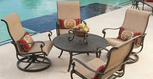 Stacking Sling Patio Chairs by Gorgeous Sling Patio Set Patio Set Ideas