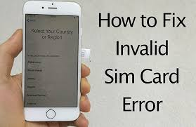 How to Fix invalid SIM card error 1 GSM Freedom Mobile