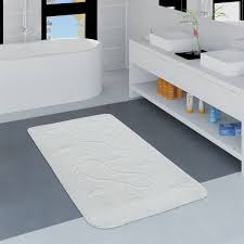 badezimmer teppich fußabdruck versch größen u farben