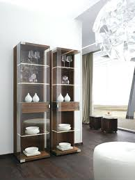Modern Dining Room Display Cabinets Glass Front Cabinet Wooden Online Furniture