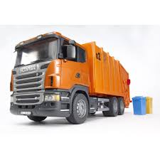 Bruder Orange Garbage Truck, Bruder Trucks | Trucks Accessories And ...