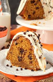 Pumpkin Spice Bundt Cake Using Cake Mix by Pumpkin Chocolate Chip Bundt Cake Life Love And Sugar