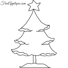 Christmas Tree Cut Out Template Supergraficaco Regarding Cutout 2018