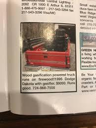 100 Wood Gasifier Truck Paul DonohooVallett On Twitter Clean Transportation