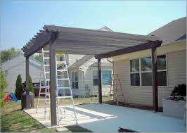 Stand Alone Metal Patio Covers Aluminum Cover Kits Awnings For