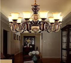 luxus europäischen stil kronleuchter wohnzimmer amerikanischen retro schlafzimmer esszimmer kombination le