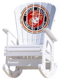Rocking Chair - Marine Corps
