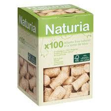 allume feux 100 naturels naturia boite de 100 leroy merlin