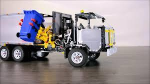100 Lego Recycling Truck LEGO TECHNIC Electric
