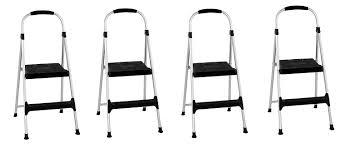 Cosco Retro Chair With Step Stool Black by Amazon Com Cosco Signature 3 Step Stool Home Improvement