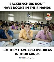 Books Indianpeoplefacebook And Ideas BACKBENCHERS DONT HAVE BOOKS IN THEIR HANDS