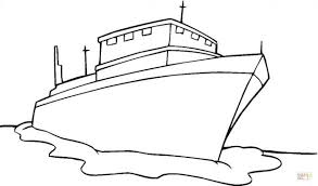 Free Printable Cruise Ship Coloring Pages Disney Line Click