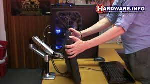 Desk Mount Monitor Arm Dual by Hardware Info Ergotron Lx Desk Mount Lcd Arm Demonstration Youtube