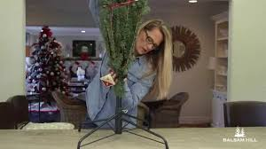 Ace Hardware Christmas Tree Stand by How To Set Up A Tree Stand From Balsam Hill Youtube