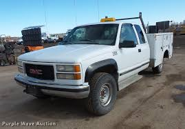 1998 GMC Sierra 2500 Ext. Cab Utility Bed Pickup Truck | Ite... Red 1998 Gmc Sierra Single Cab Short Bed Youtube Sierra 1500 Image 4 Photos Informations Articles Bestcarmagcom Truck Boss Plow For Sale Mid Michigan College 2500 Ext Utility Bed Pickup Truck Ite Fabtech 6 Performance System Wperformance Shocks 8898 Cover Quest Photo Gallery Gmc Lowrider Custom 20 Wheels 8lug Magazine 3500 Sle Ambulance Item De1843 Sold Aug Protouring Dually Flemings Ultimate
