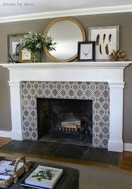 our new fireplace driven by decor