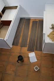Linoleum Wood Flooring Menards by Reasons To Install Vinyl Plank Flooring In Your Trailer Or Rv
