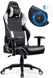 GTRACING Gaming Chair With Bluetooth Speakers 400LBS Metal Base Heavy Duty  Music Video Game Chair Audio Computer Desk Chair 899 Gray Gurugear 21channel Bluetooth Dual Gaming Chair Playseat Bluetooth Gaming Chair Price In Uae Amazonae Brazen Panther Elite 21 Surround Sound Giantex Leisure Curved Massage Shiatsu With Heating Therapy Video Wireless Speaker And Usb Charger For Home X Rocker Vibe Se Audi Vibrating Foldable Pedestal Base High Tech Audio Tilt Swivel Design W Adrenaline Xrocker Connectivity Subwoofer Rh220 Beverley East Yorkshire Gumtree Pro Series Ii 5125401 Black