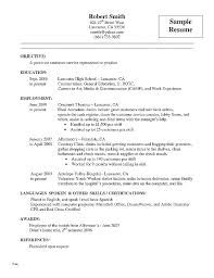 Resume Samples Sales Associate Retail Examples Free Together With For Sample Without Experience