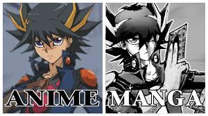 Yuma Tsukumo Deck Manga by Yusei Fudo Anime Vs Yusei Fudo Manga Youtube