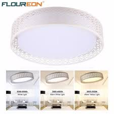 floureon 24w led ceiling light with 2 4g wireless remote