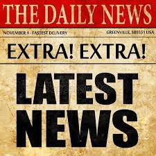 Latest News Newspaper Article Text
