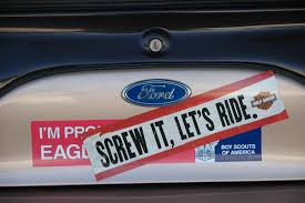 Stick It: Bumper Stickers, The Tackiest Trend | Hemmings Daily