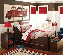 Bed : Fire Truck Twin Bed Firetruck Bunk Toddler Engine Bedding Set ...