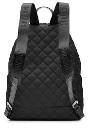 Moschino Quilted Backpack Black Womenmoschino Jacket Baglatest Fashion Trends