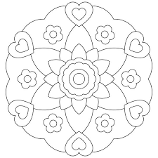Full Size Of Coloring Pagestrendy Free Printable Mandalas Kids For To Color About Large