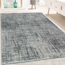 Large Silver Grey Thick Living Room Rugs