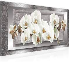bilder blumen orchidee 5 teilig bild auf vlies leinwand deko