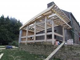 maison bois lamelle colle nos réalisations charpente charpente traditionnelle maison