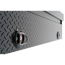 100 Truck Tool Boxes Black Diamond Plate 127502 Weather Guard US