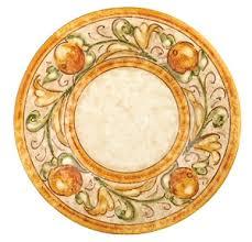 Italian Designer Dinner Plate