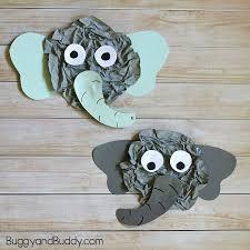 Elephant Craft For Kids Using Newspaper