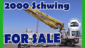 100 Concrete Pump Truck For Sale 2000 Putzmeister For SALE YouTube
