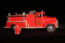 1956 TONKA PUMPER Ford Fire Truck With Hydrant - $142.50 | PicClick