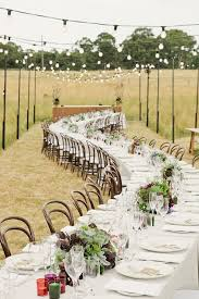 Outside Rustic Wedding Ideas Outdoor Reception 1 Fab Mood Black And White Themed