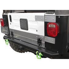 100 Jeep Wrangler Truck Conversion Kit SWAG Aluminum Drop Down Tailgate