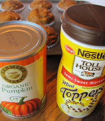 Libbys Canned Pumpkin Nutrition Facts by Sprinkle Some Sunshine Pumpkin Chocolate Chip Muffin Party