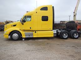 USED 2013 PETERBILT 587 TANDEM AXLE SLEEPER FOR SALE IN TX #2804